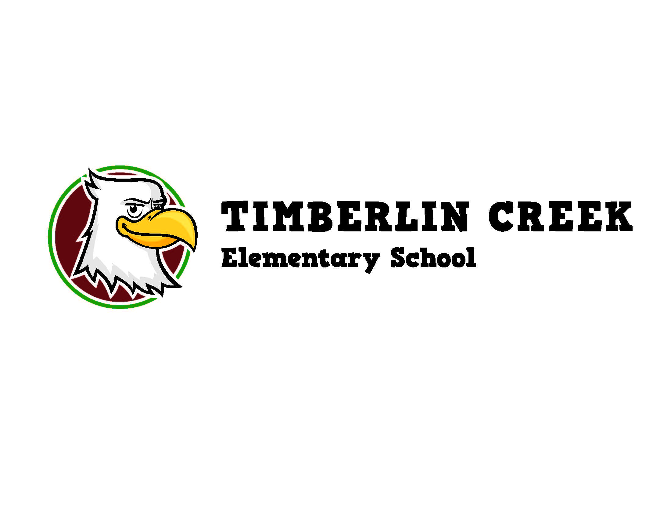 Timberlin_Creek_Eagle-Head-logo_with-black-letters